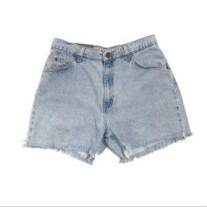 VTG Levi's | Light Wash Cut Off Jean Shorts